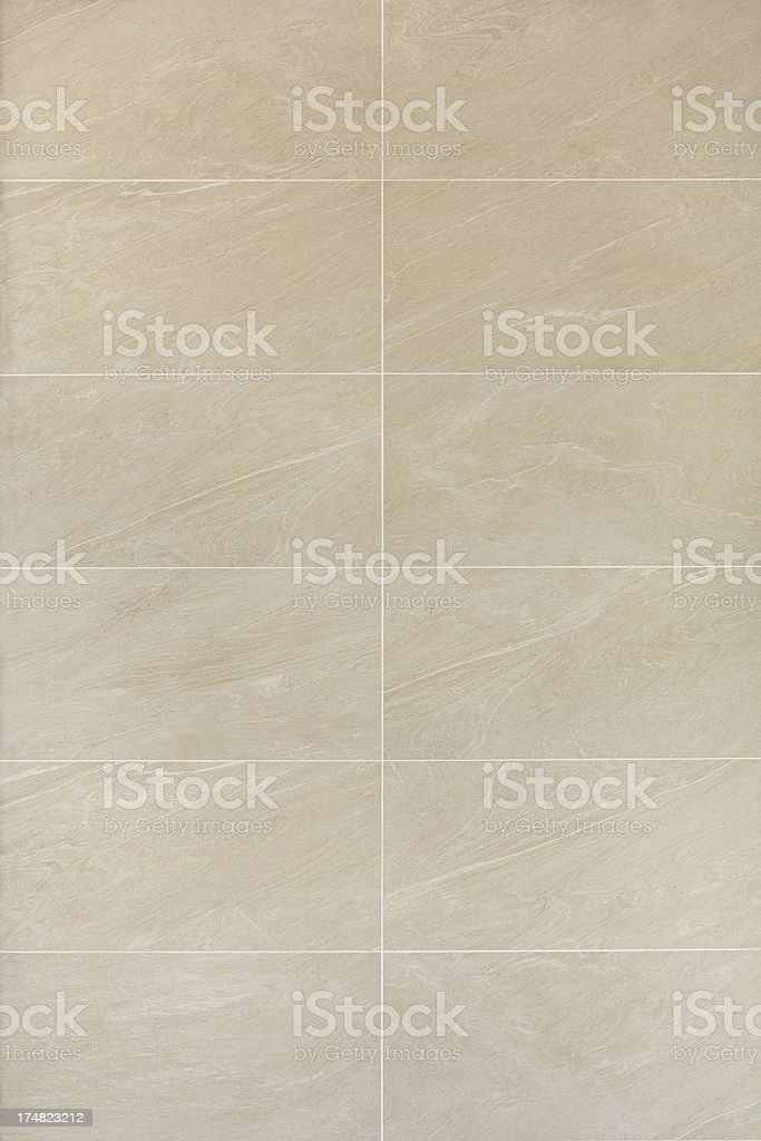 bathroom wall tiling stock photo