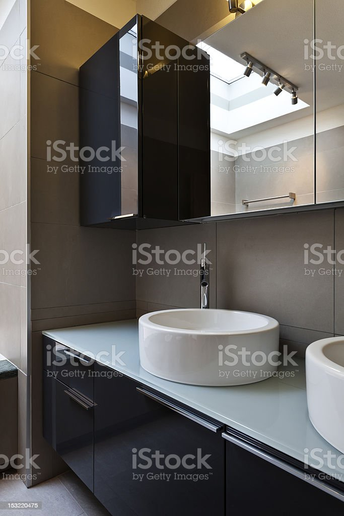 bathroom with ethnic bath royalty-free stock photo
