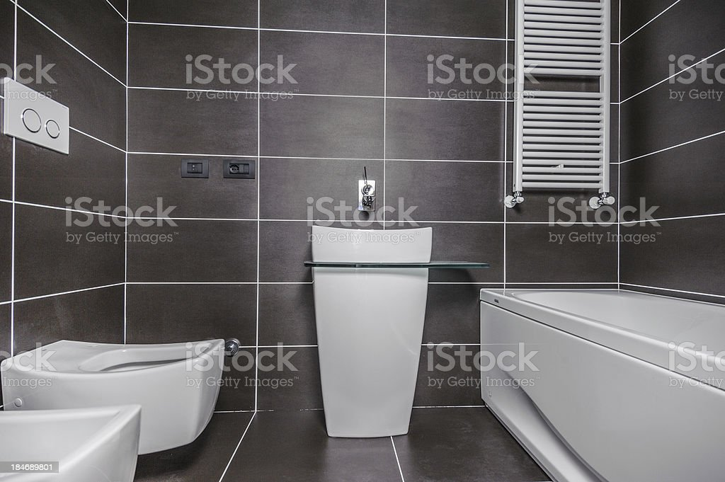 Bathroom with no mirror royalty-free stock photo