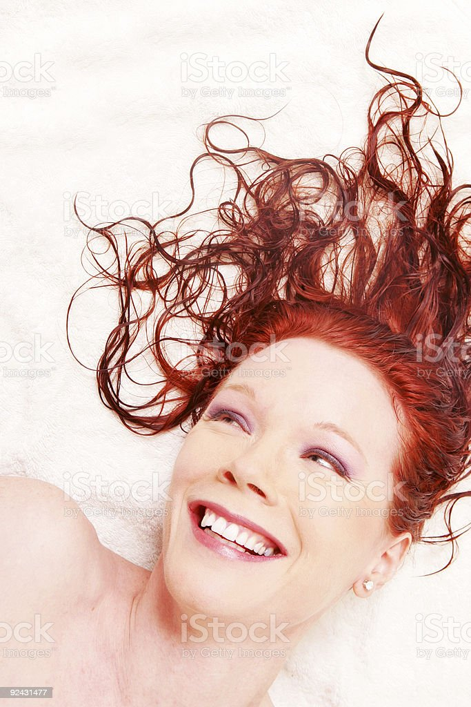 Bathtime Beauty royalty-free stock photo