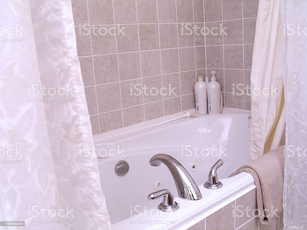 Bathtub 4 royalty-free stock photo