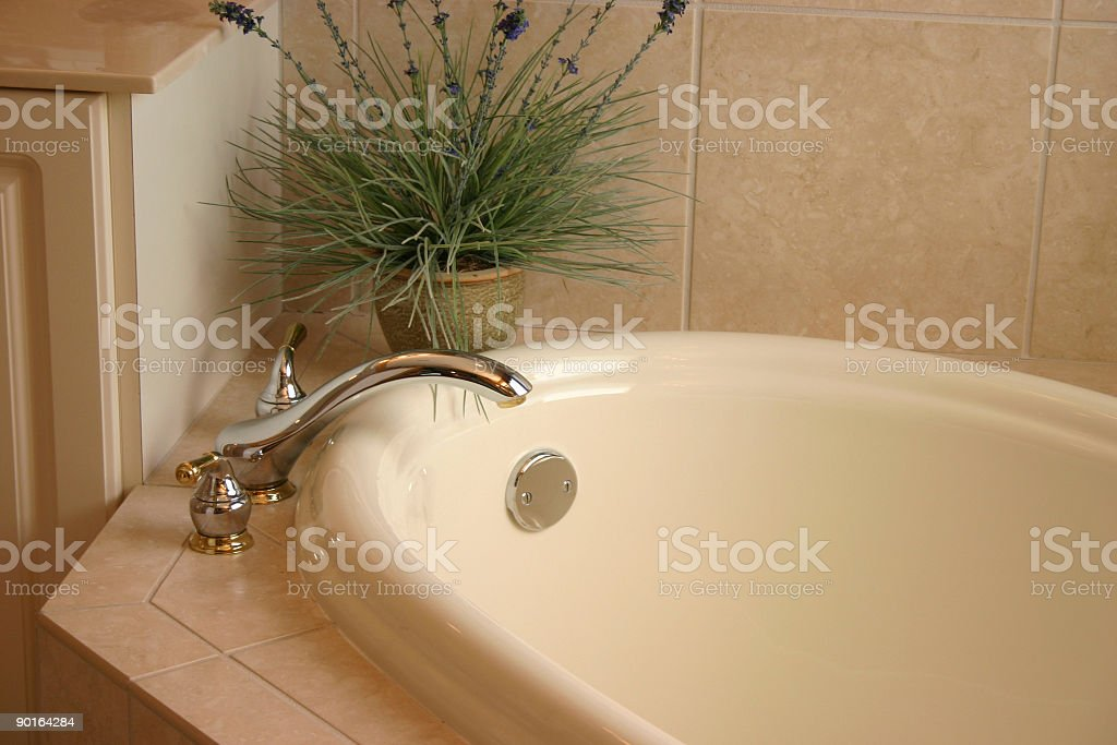 Bathtub and Faucet royalty-free stock photo