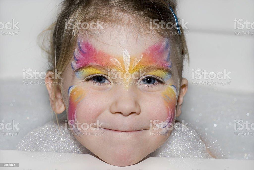 Bathtub Fairy royalty-free stock photo