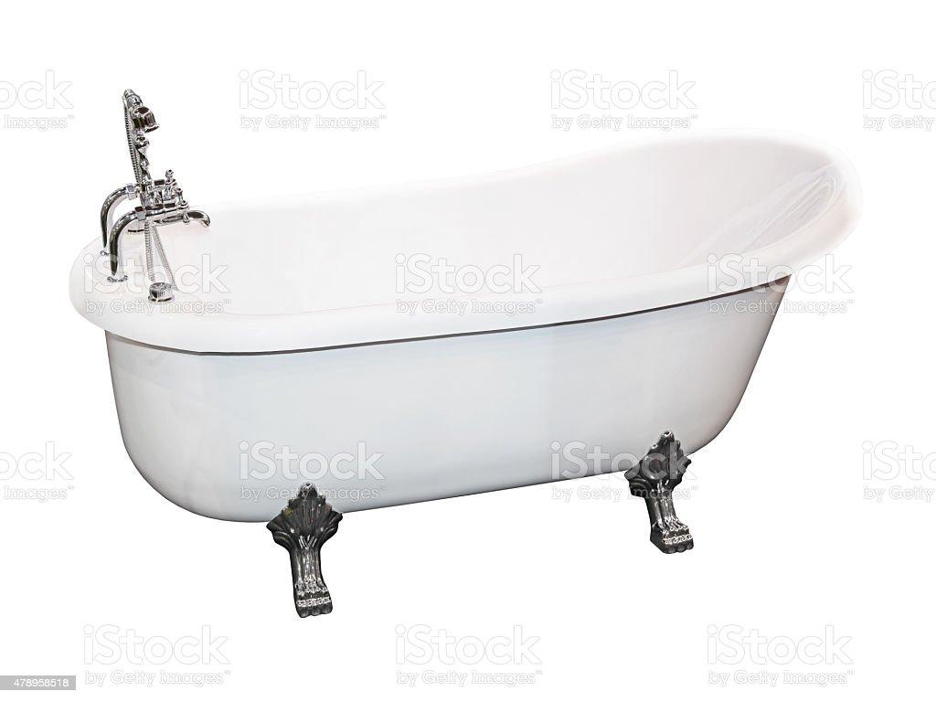 Bathtub vintage stock photo