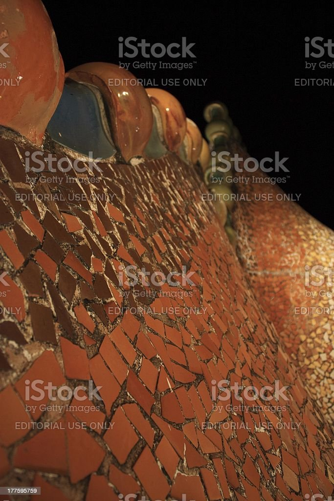 Casa Batllo royalty-free stock photo