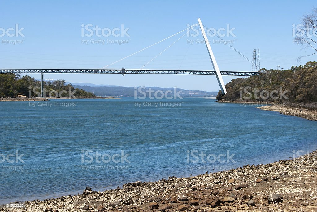 Batman Bridge Tasmania royalty-free stock photo