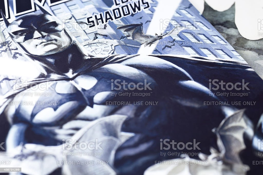 Batman Long Shadows stock photo