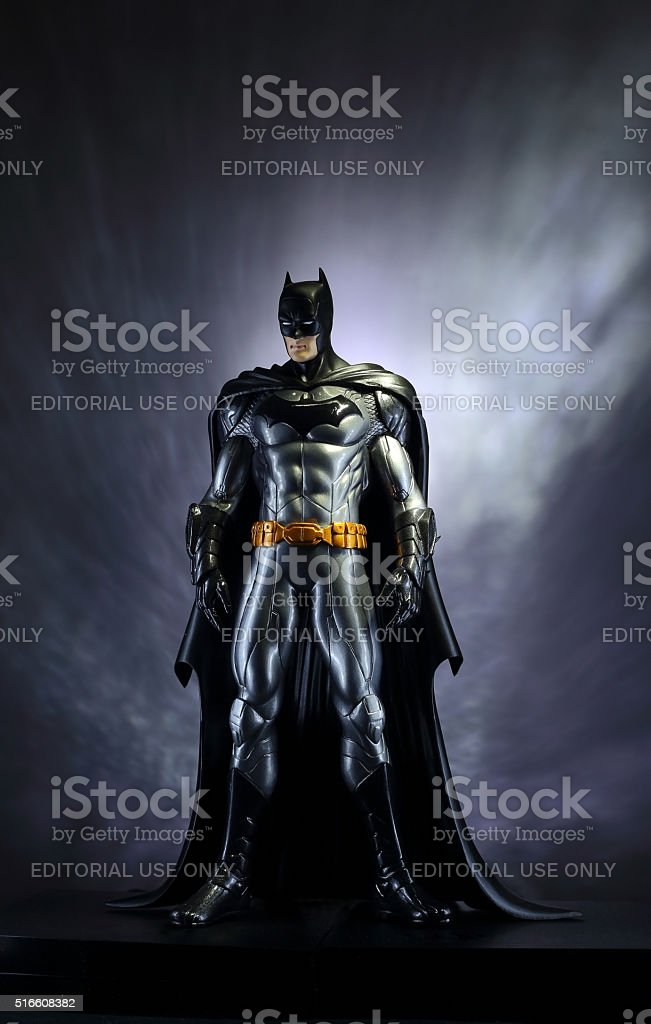 Batman, the Dark Knight. stock photo