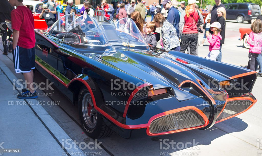 1966 Batmobile On Display At The Chatham-Kent Annual Retrofest stock photo
