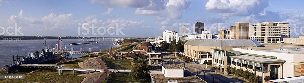Baton Rouge Panorama stock photo