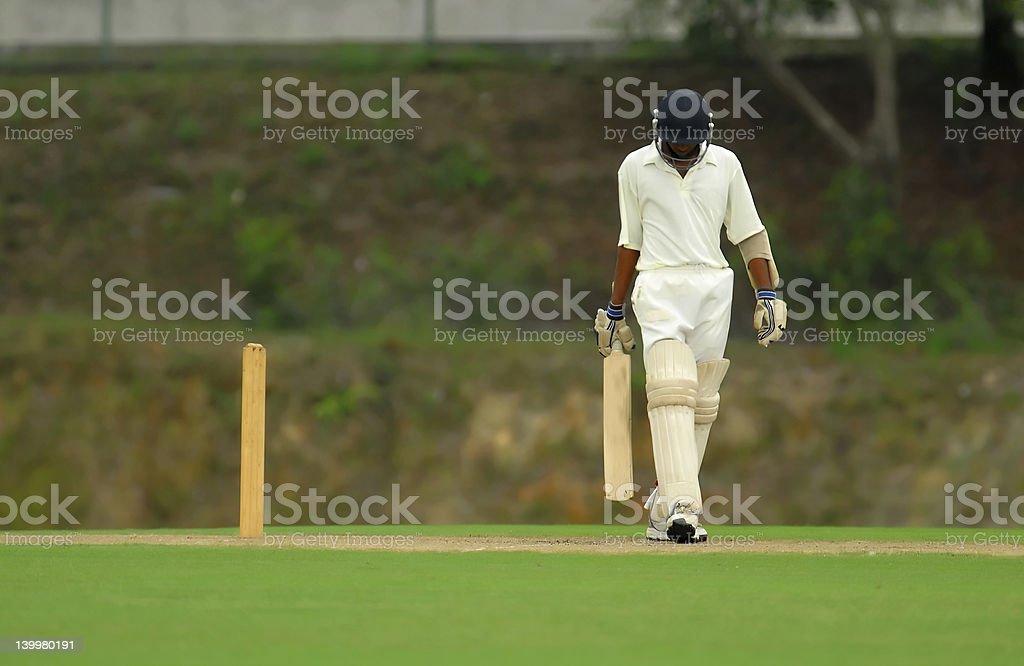 batsman royalty-free stock photo