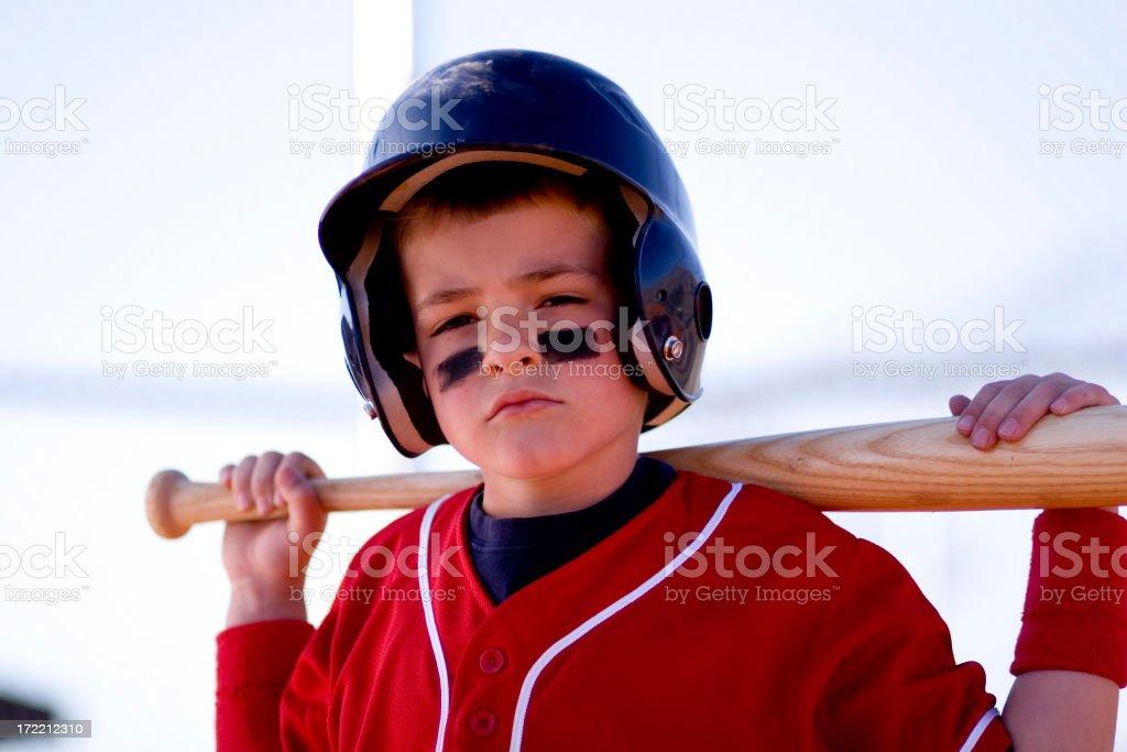 Batter On Deck stock photo