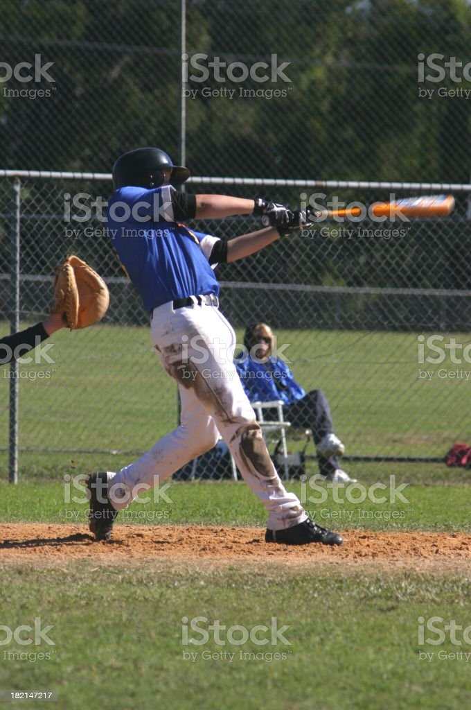 Batter Up royalty-free stock photo