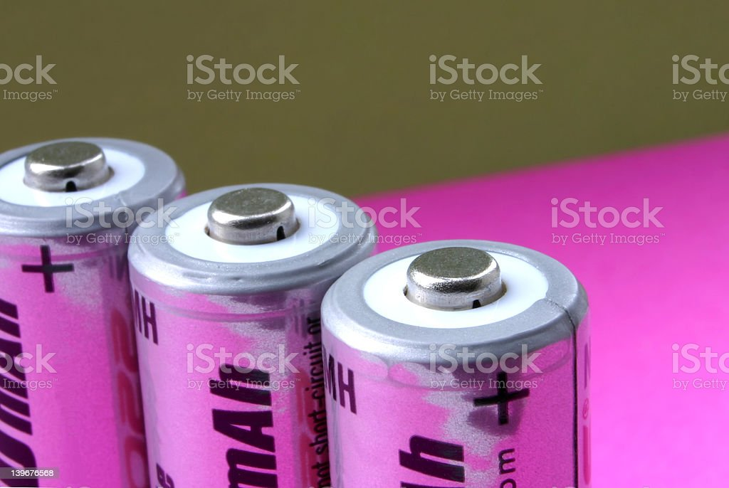 batteries  #3 stock photo