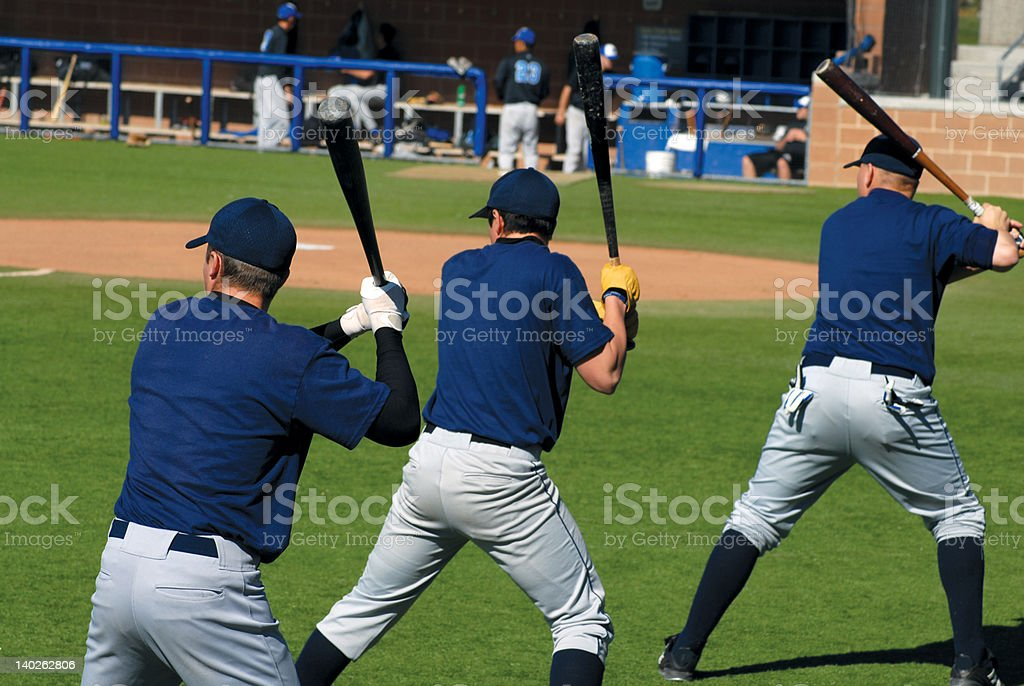 Batters Up stock photo
