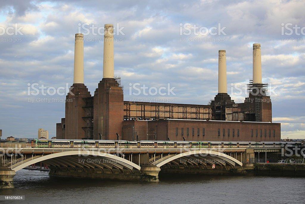 Battersea Power Station royalty-free stock photo