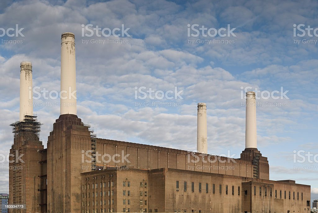 Battersea Power station royalty-free stock photo