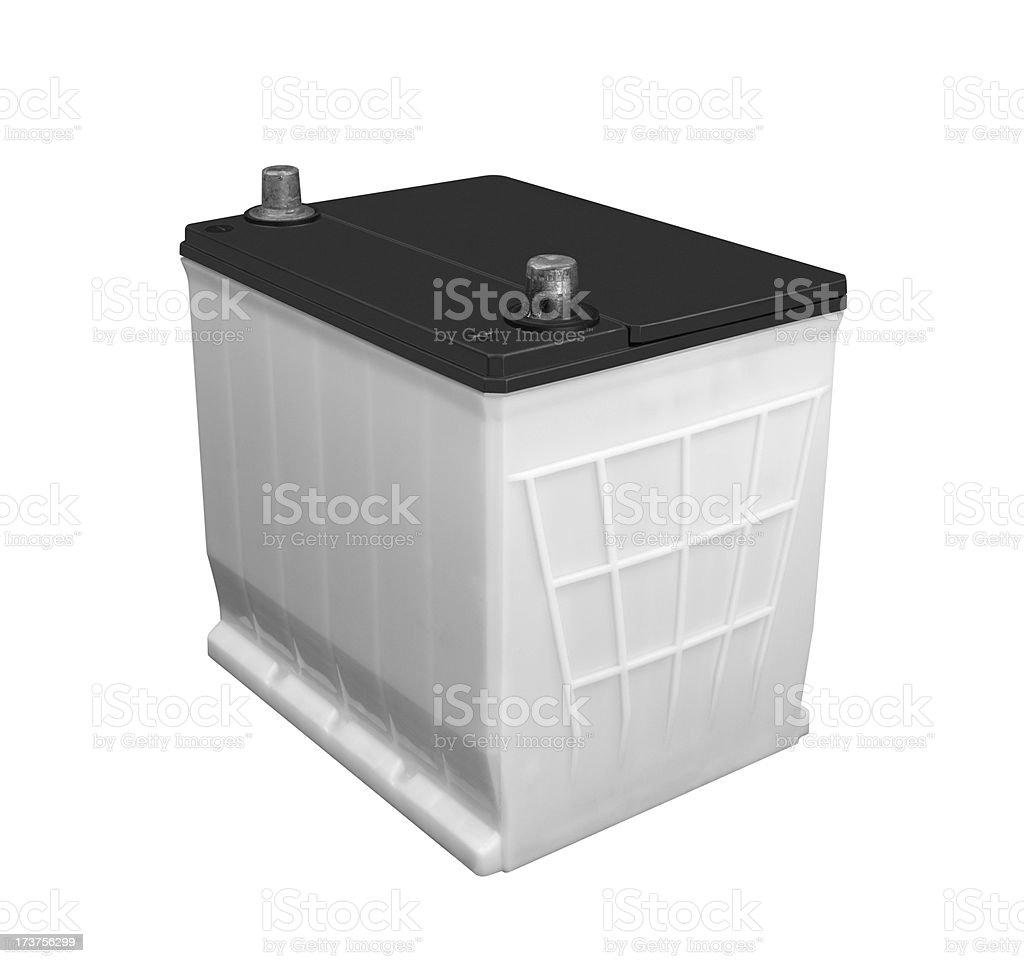 Battery 12 volt royalty-free stock photo