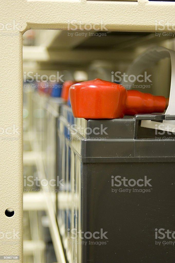 Battery Bank stock photo