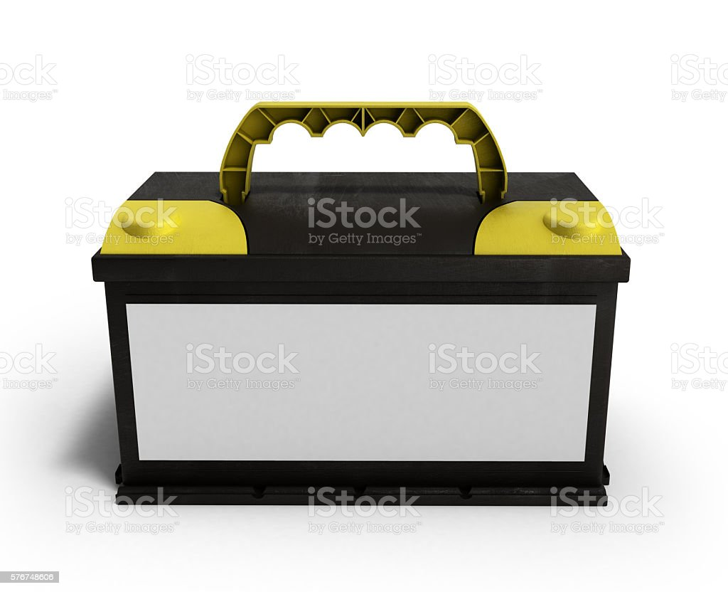 battery batteries accumulator car auto parts electrical supply p stock photo