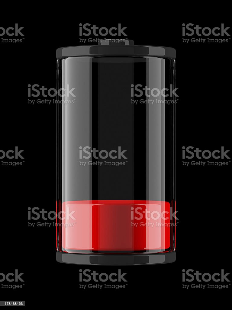 Battery Charge Icon stock photo