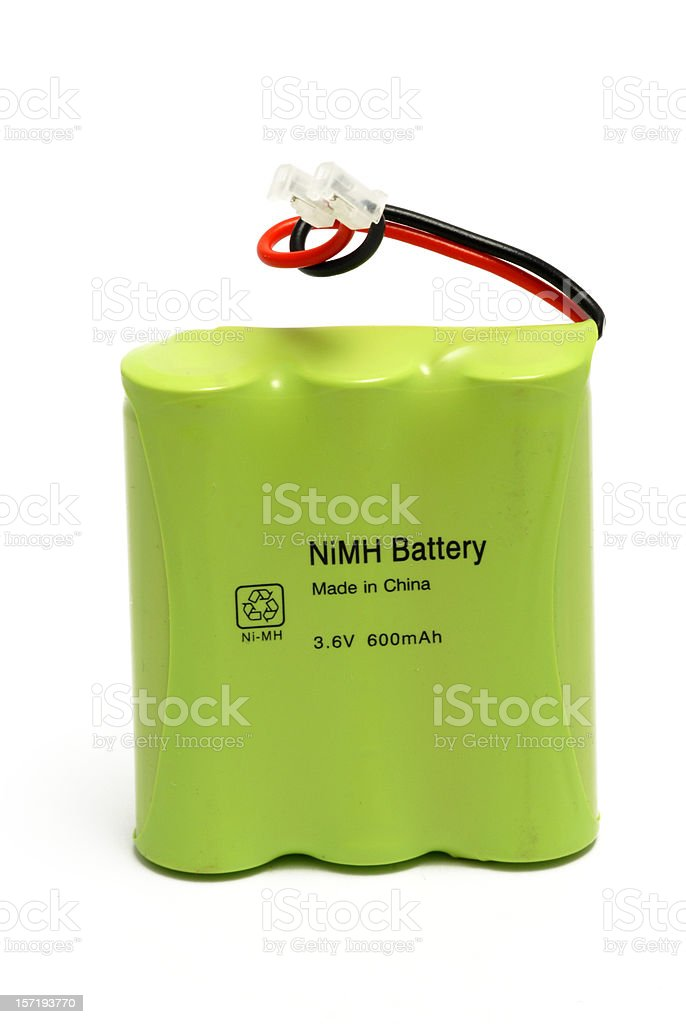 Battery pack royalty-free stock photo