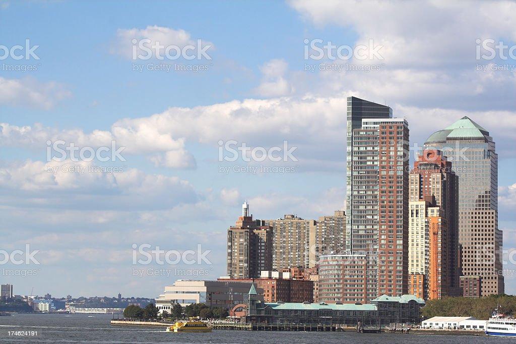 Battery Park City stock photo