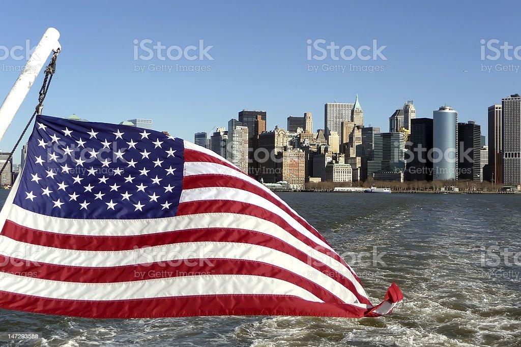 Battery Park, Lower Manhattan, New York stock photo