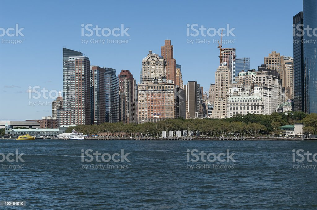 Battery Park royalty-free stock photo