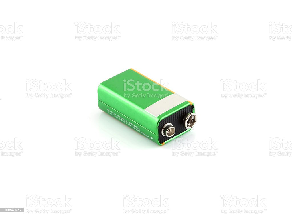 Battery stock photo