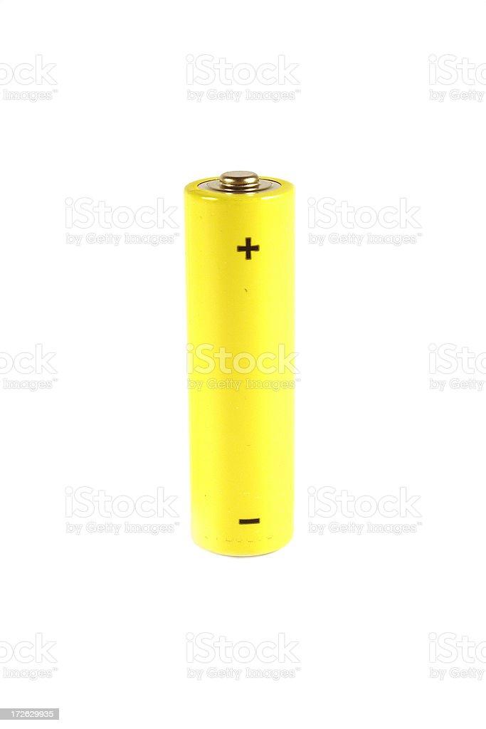 AA battery royalty-free stock photo