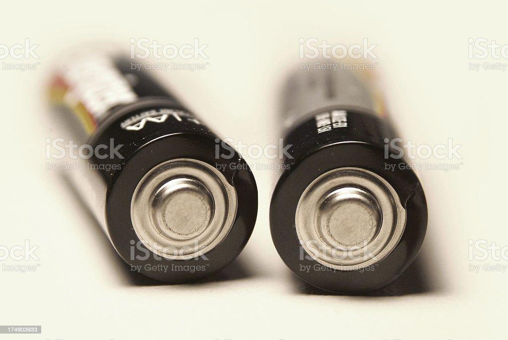 Batterie Lizenzfreies stock-foto