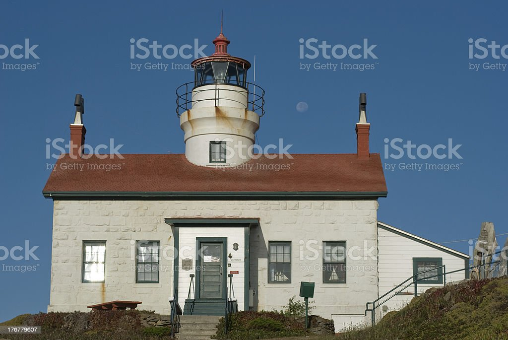 battery point spectacular stock photo
