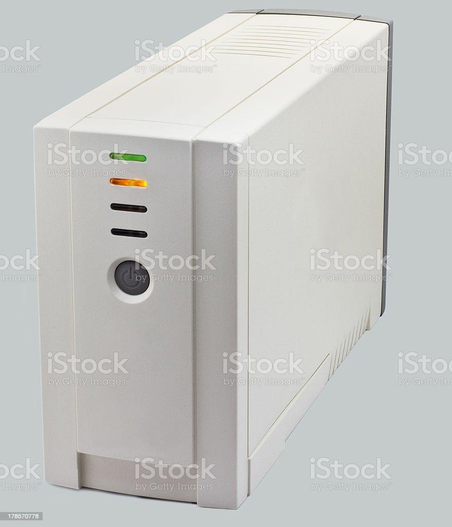 battery power supply stock photo
