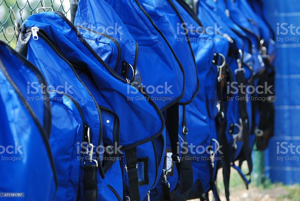 Batting Bags stock photo