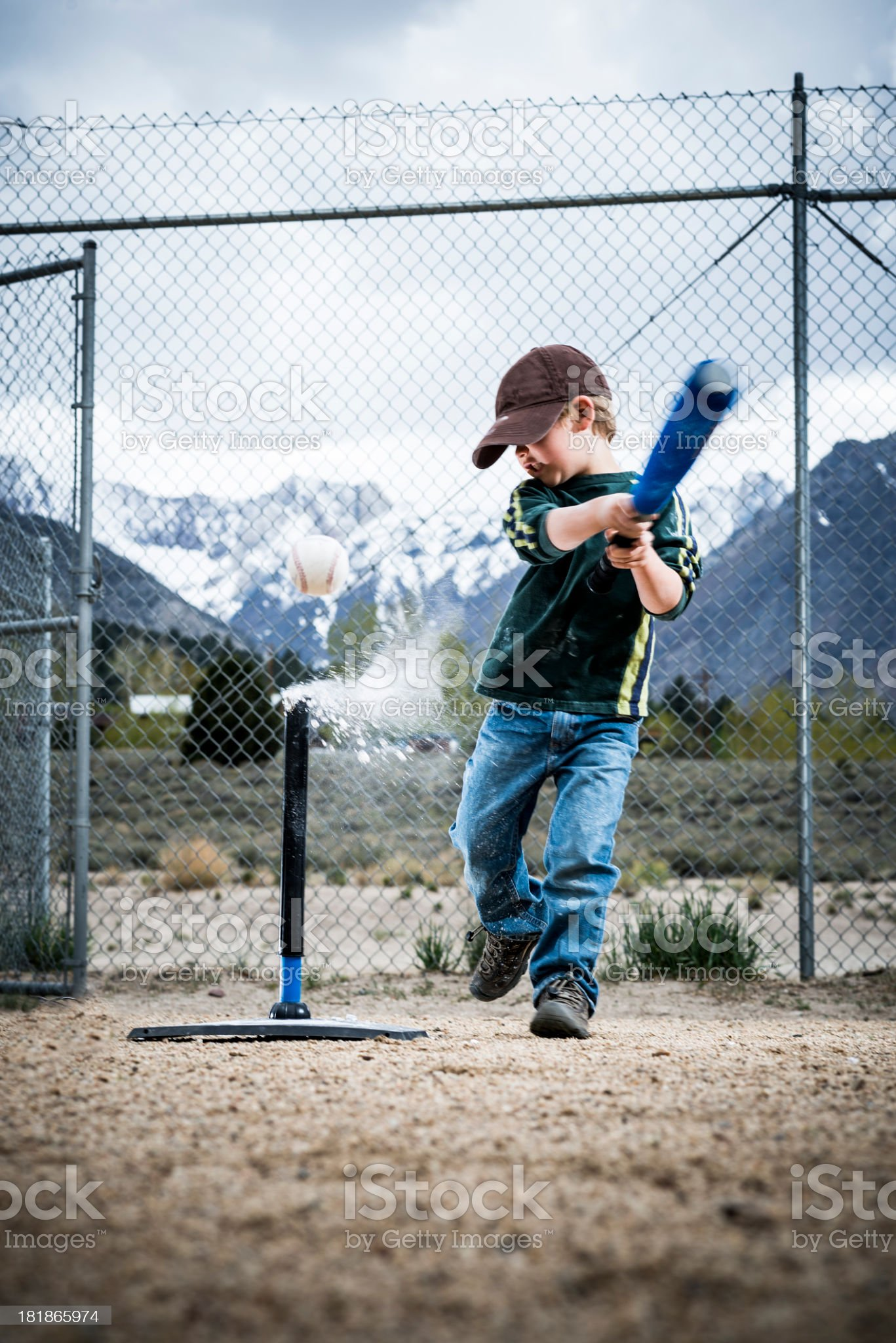batting royalty-free stock photo