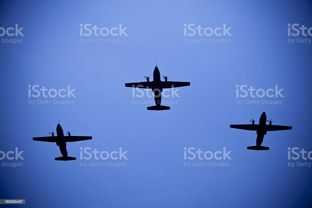 Battle aircraft royalty-free stock photo