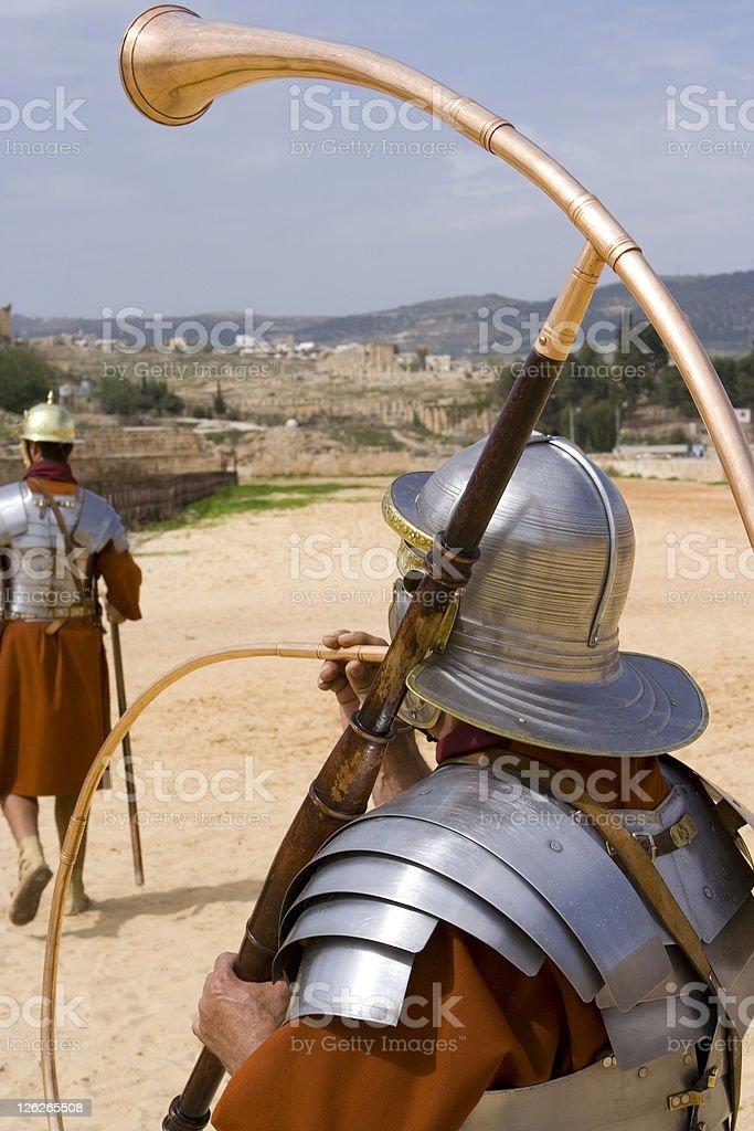 Battle Horn stock photo