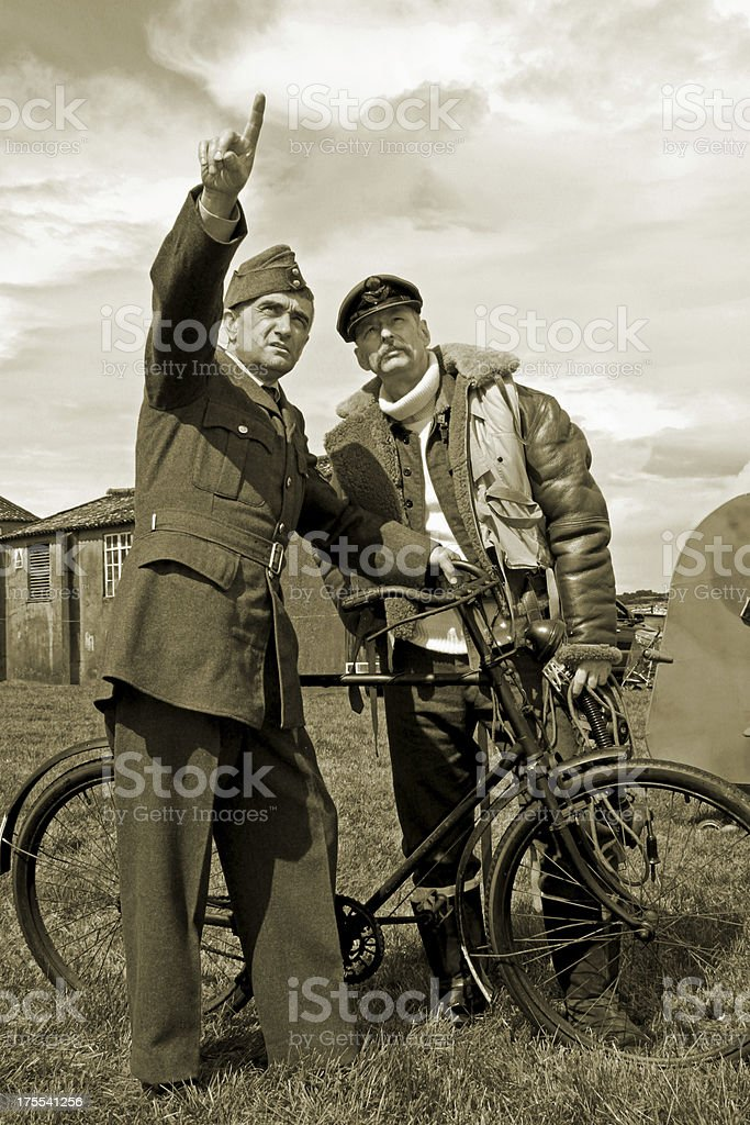 Battle of Britain. royalty-free stock photo