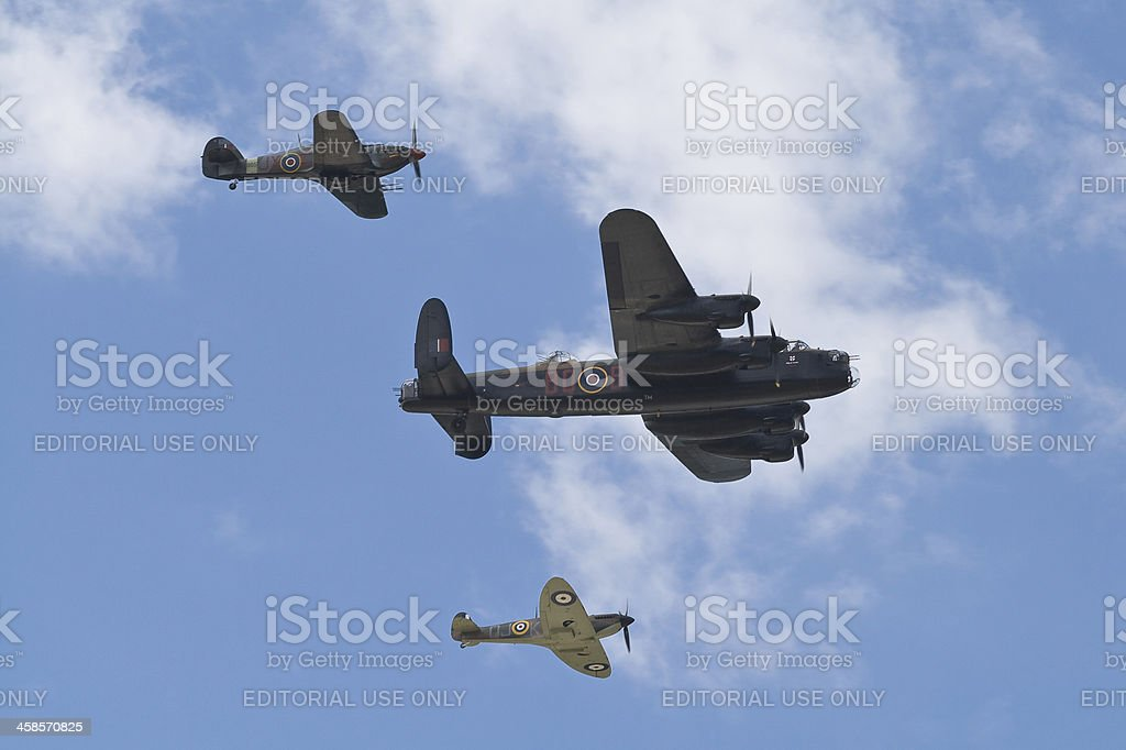Battle of Britain royalty-free stock photo