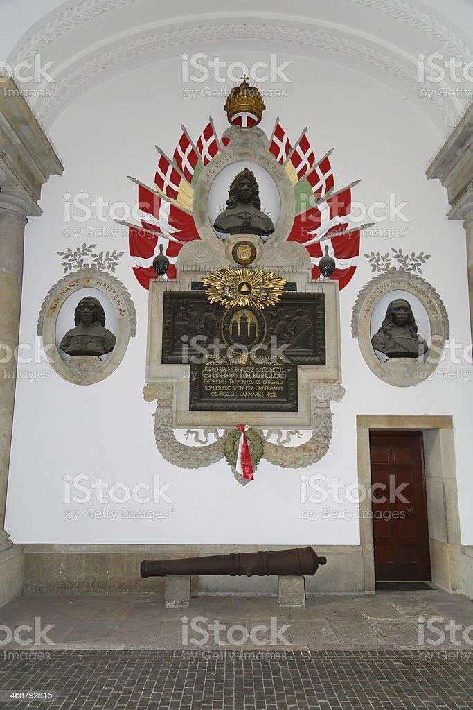Battle of Copenhagen 1659 Memorial stock photo