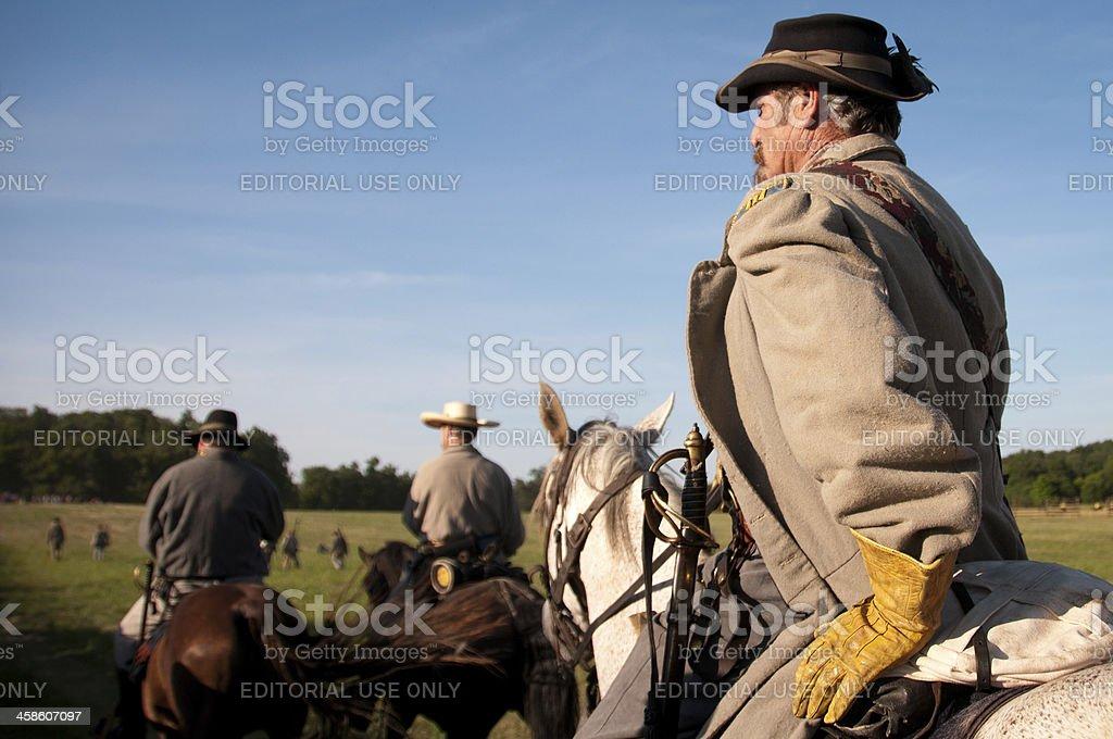 Battle of Gettysburg stock photo