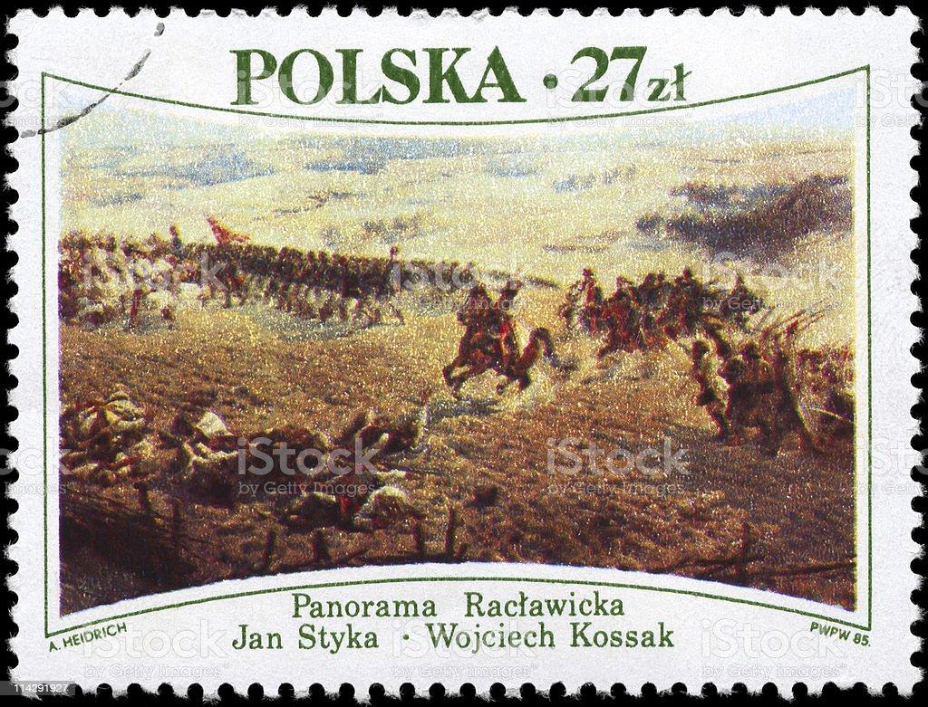 Battle of Raclawice stock photo