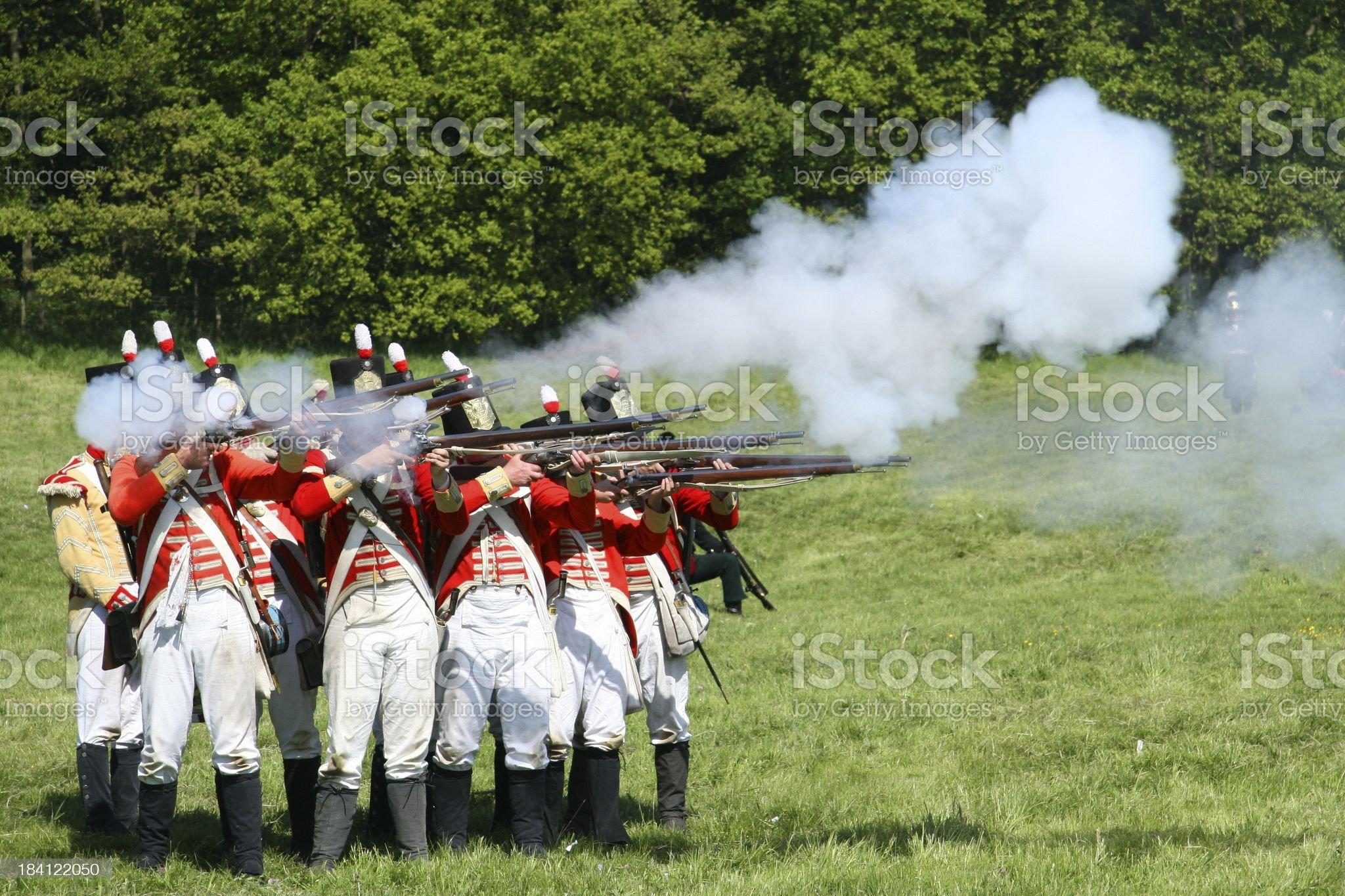 Battle royalty-free stock photo
