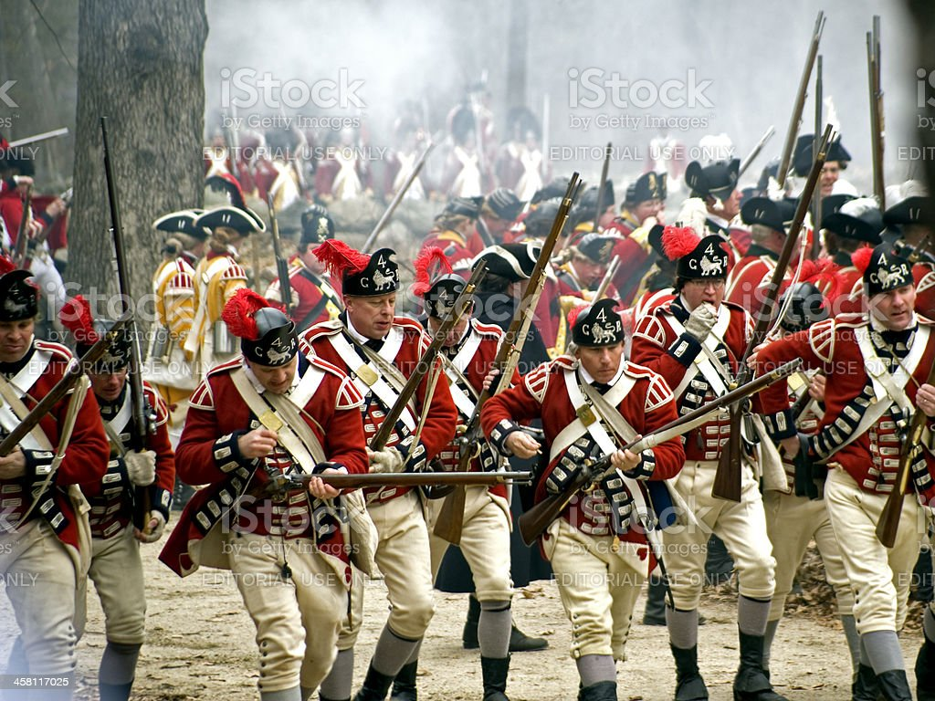 Battle Road royalty-free stock photo