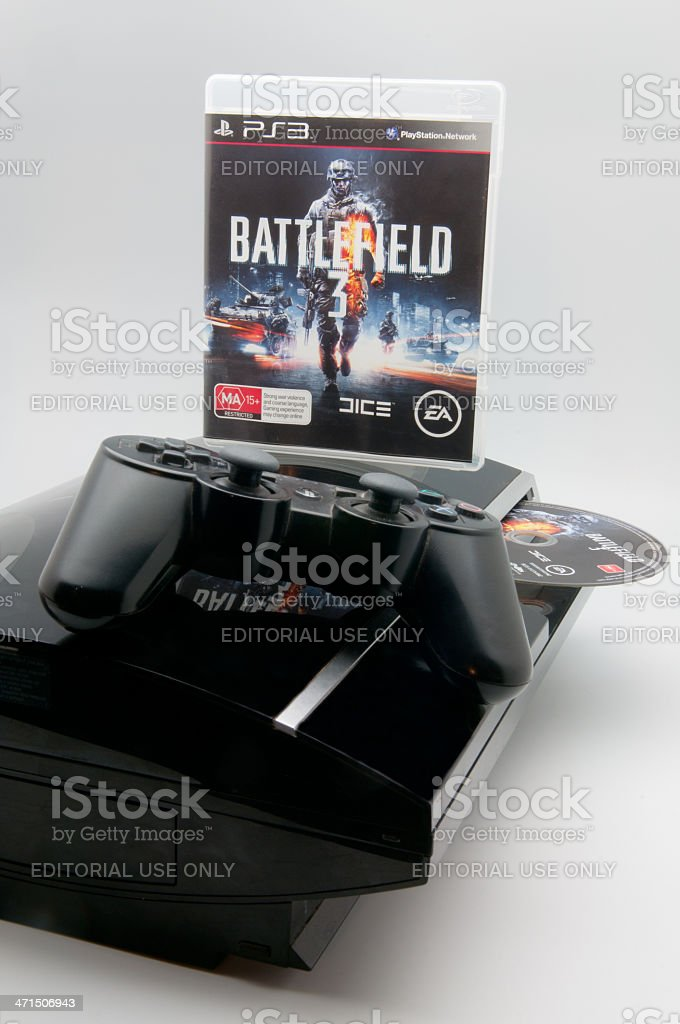 Battlefield 3 PS3 game stock photo