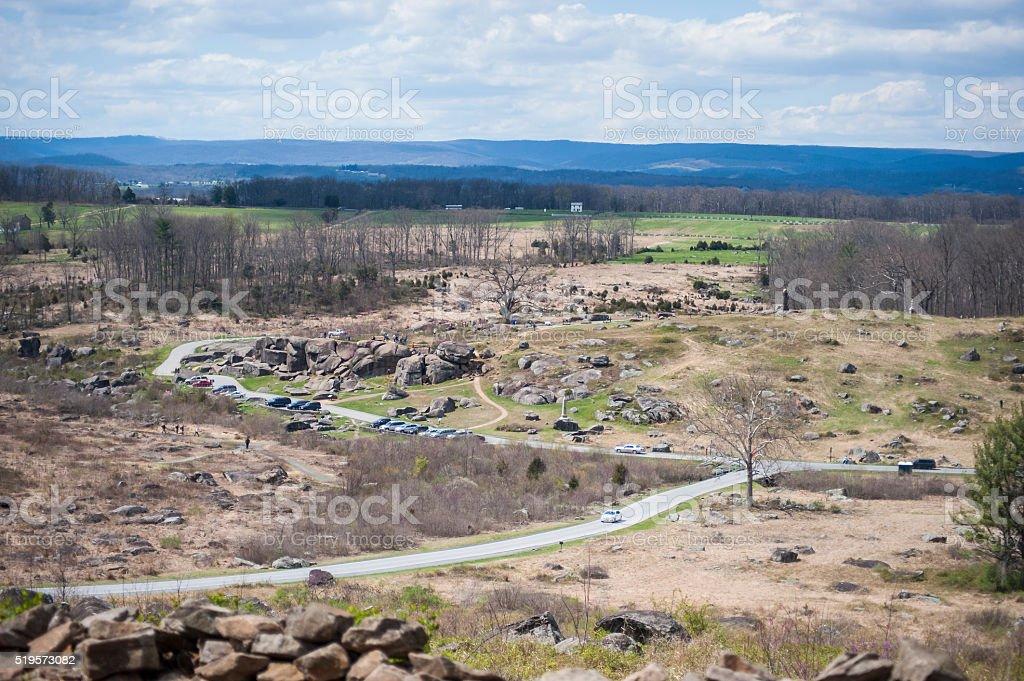 Battlefield stock photo