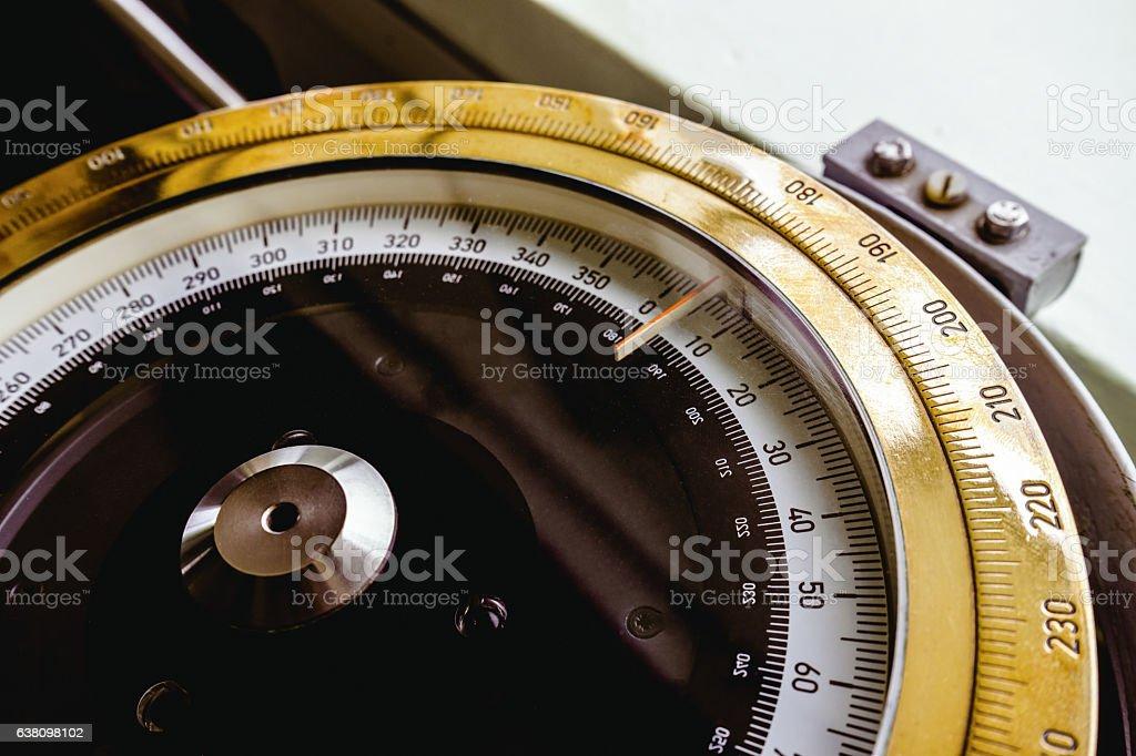 battleship compass stock photo