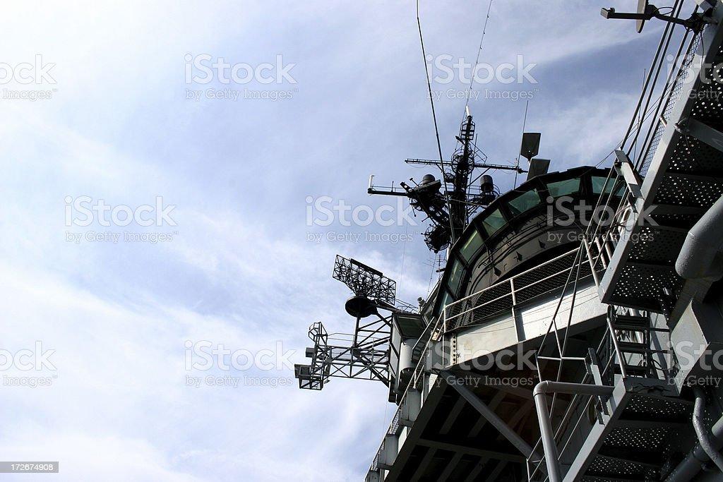 battleship tower 2 stock photo