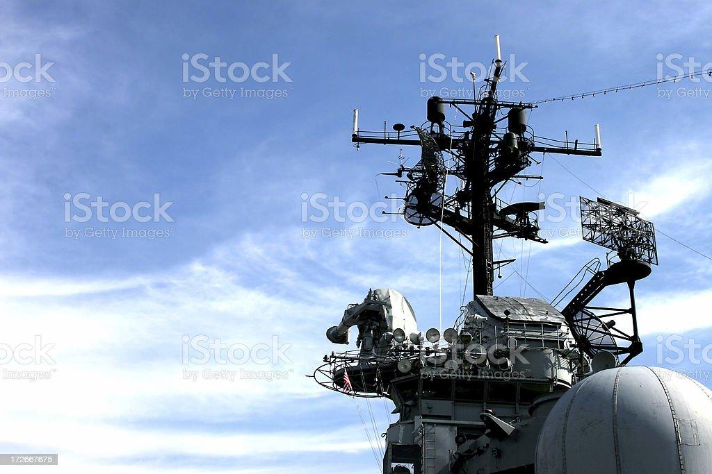 Battleship tower stock photo